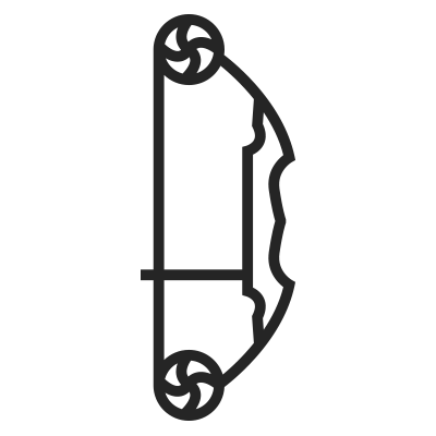 Bowfishing Bow Icon